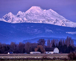 The Skagit Valley and Mount Baker