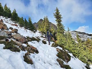 Near snowline