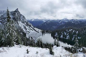 Valhalla Lake hike