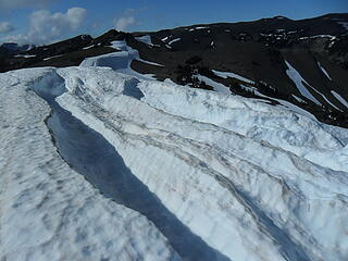 Cornices melting away