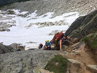 Me - Back up the gully