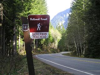 Mt Dickerman Trailhead