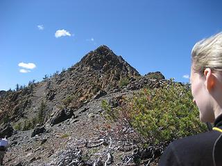 Tisha's View of Bean Peak