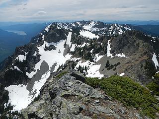 Davis peaks now a long way away