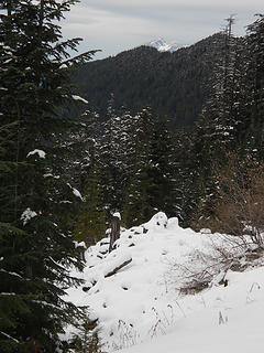 Mt. Pilchuck from trail to Mt.Stickney  11/25/18