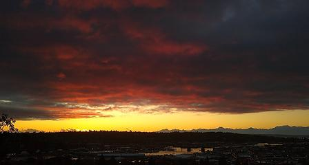 Bonus sunset from Monday