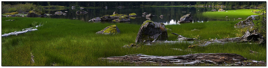 Heather Lake Afternoon