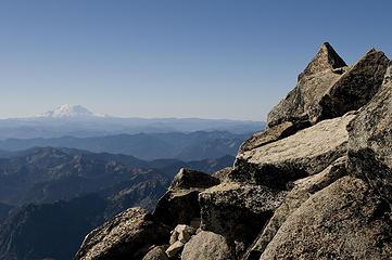 Rainier from the Stuart summit