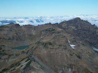 Goat Lake and Johnson Peak