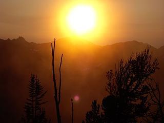 Sunset at Buckhorn Wilderness