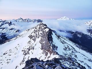 SW ridge of North Star with Fortress, Glacier Peak