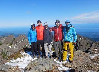 Arrowsmith summit