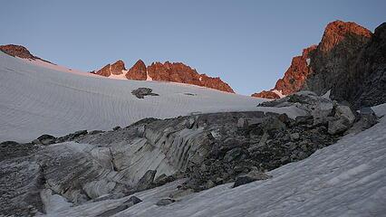 Sunrise on Pinnacle Ridge