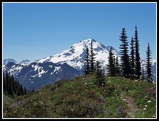 First Glacier Peak View