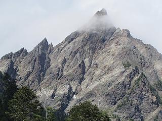 Anderson West Peak has now emerged