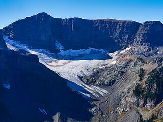 Banshee Peak and Sarvant glacier