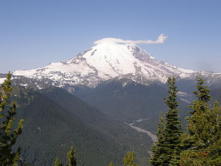 Rainier from Crystal Peak true summit.