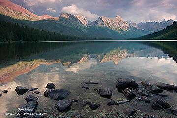 Elizabeth Lake Reflection