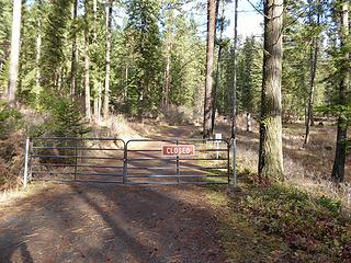 Chatcolet campground is closed for the winter in Nov. A trail leads up from the lake next to the picnic shelters or beside camp site 113.