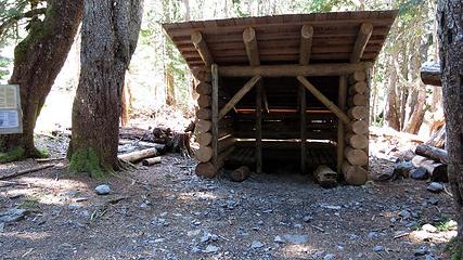 glacier meadow shelter