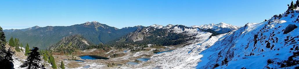 pano from Bogachiel Peak