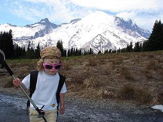 Annika hiking