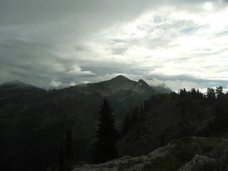Point 6206 above LaCrosse Pass.