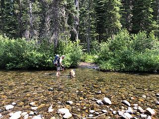 Crossing Jack Creek
