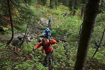 Crossing Schaefer Creek