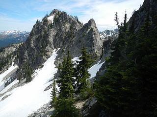 north peak south face