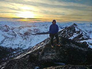 Eric on the summit