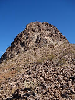 the route on Little Haystack