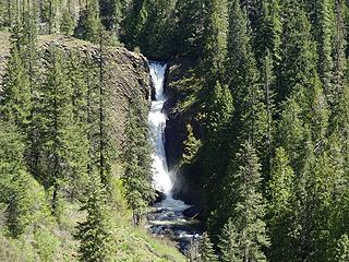 Middle Elk Creek Falls.