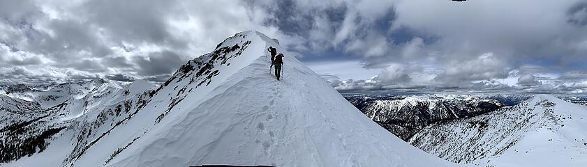 Middle Chiwaukum Summit Ridge. Photo by Sam