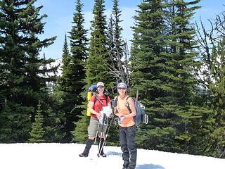 (Marmot) Lindsay and (Ranger) Lindsey