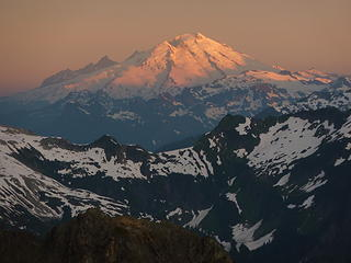Mt. Baker at dawn.