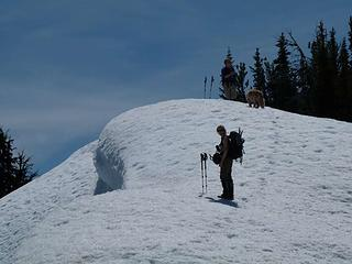 Ridge up to Bootjack