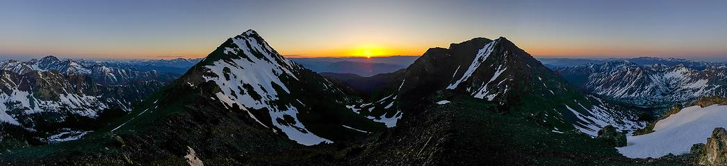Sunrise from point 8487