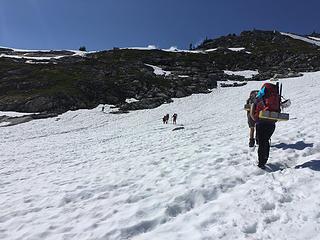 Eldo to Roush over ridge