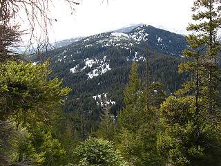 Teanaway Butte from Tarzan