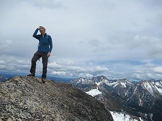 Jake on the summit