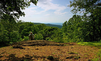 13- Hog Rock vista (selfie)
