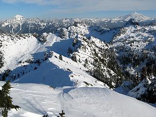 Pugh, Chokwich, Twin Peaks & Glacier