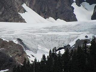 Anderson Glacier closeup