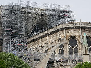 Notre Dame fire aftermath
