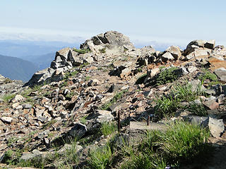 Crystal Peak old lookout site.