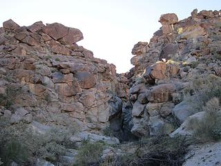Middle Grapevine narrows