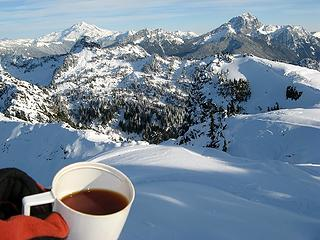 Summit Tea with Glacier & Sloan