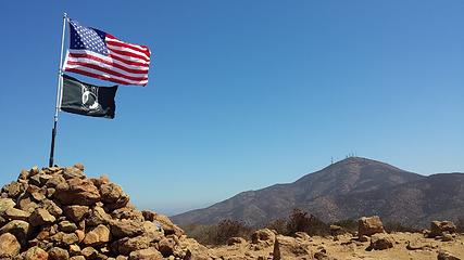 Flags & San Miguel Mtn.