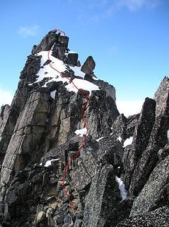 Argonaut Route line
